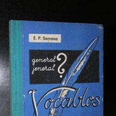 Libros de segunda mano: VOCABLOS PARA LA ENSEÑANZA DE LA ORTOGRAFÍA. GRADO ELEMENTAL - LIBRO DEL ALUMNO.. Lote 194706068