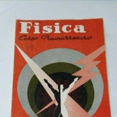 Libros de segunda mano: FÍSICA CURSO PREUNIVERSITARIO SM. Lote 194751916