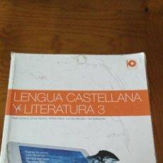 Libros de segunda mano: LIBRO LENGUA CASTELLANA Y LITERATURA CASALS 3 ESO. Lote 194754561