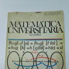 Libros de segunda mano: MATEMÁTICA UNIVERSITARIA ÁLGEBRA BELLO COU. Lote 194858781