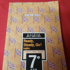 Libros de segunda mano: INGLES 7 E.G.B. ANAYA. Lote 194859057