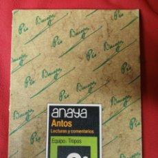 Libros de segunda mano: ANTOS 6 E.G.B. ANAYA. Lote 194862178