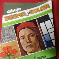 Libros de segunda mano: DIBUJO FORMA Y COLOR B.U.P.1. Lote 194862931
