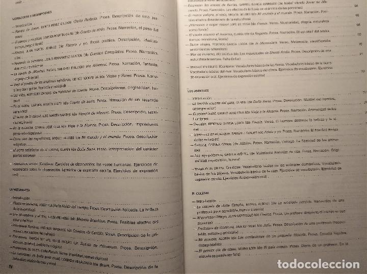 Libros de segunda mano: Páginas 6, Antología básica de textos, Montes-Soler, E.G.B, 1988 - Foto 5 - 194895731