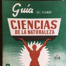 Libros de segunda mano: EGB 6O QUESADA GUIA DEL ALUMNO. CIÈNCIES NATURALEZA. Lote 194933018