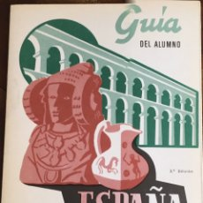 Libros de segunda mano: EGB/ BUP QUESADA. GUIA DEL ALUMNO HISTÒRIA DE ESPAÑA 1. Lote 194934001