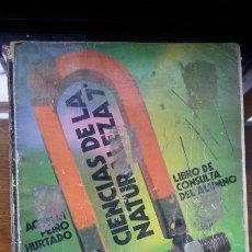 Libros de segunda mano: CIENCIAS DE LA NATURALEZA 7º ANAYA,AGUSTIN PEIRO HURTADO, EGB 1973. Lote 194961605