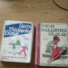 Libros de segunda mano: NUEVA ENCICLOPEDIA ESCOLAR GRADO PRIMERO Y SEGUNDO / HIJOS DE SANTIAGO RODRIGUEZ BURGOS. Lote 194997100