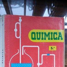 Libros de segunda mano: QUÍMICA 5º EDITORIAL SM. RÚSTICA. AÑO 1967. Lote 195009577