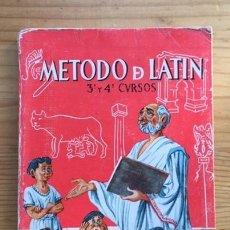 Libros de segunda mano: MÉTODO DE LATÍN. FRANSCO G. DEL RÍO, EDICIONES S.M. AÑO 1961. Lote 195019818