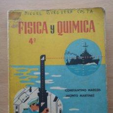 Libros de segunda mano: FÍSICA Y QUÍMICA. 4º CONSTANTINO MARCOS, JACINTO MARTINEZ.. Lote 195094803