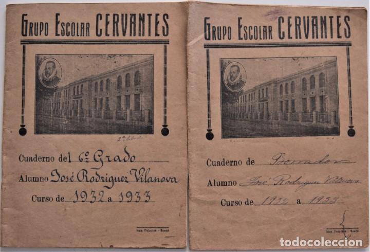 Libros de segunda mano: LOTE 20 CUADERNOS DE ALUMNO DE CENTROS DE SUECA (VALENCIA) INCLUIDO GUERRA CIVIL (VER FOTOGRAFÍAS) - Foto 5 - 195108876