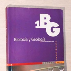 Libros de segunda mano: BIOLOGÍA Y GEOLOGÍA. 1º BACHILLERATO. CIENCIAS DE LA NATURALEZA Y SALUD. (ED. EDELVIVES) - LÓPEZ FEN. Lote 195178421