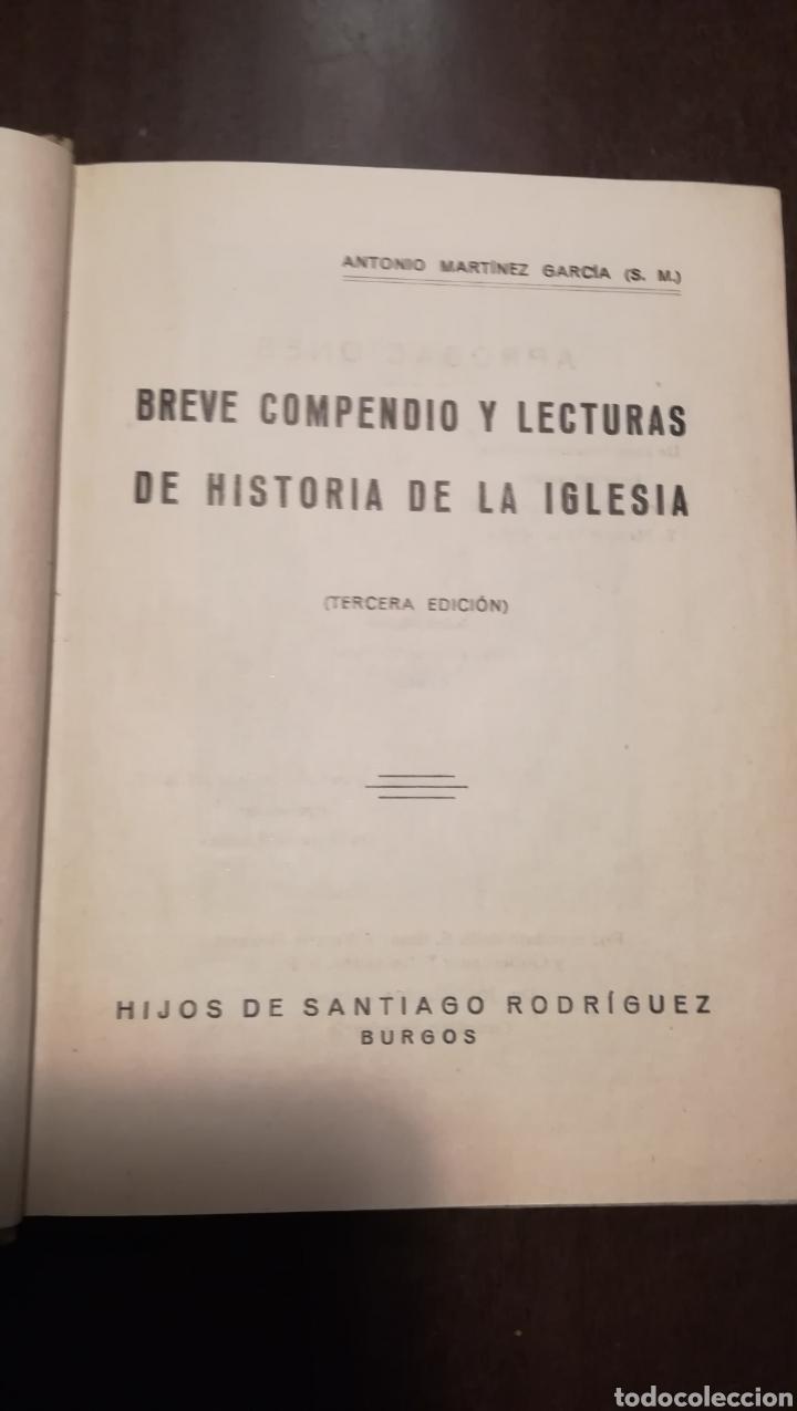 Libros de segunda mano: Historia de la Iglesia. Libro de 1a enseñanza de 1938 - Foto 2 - 195329082