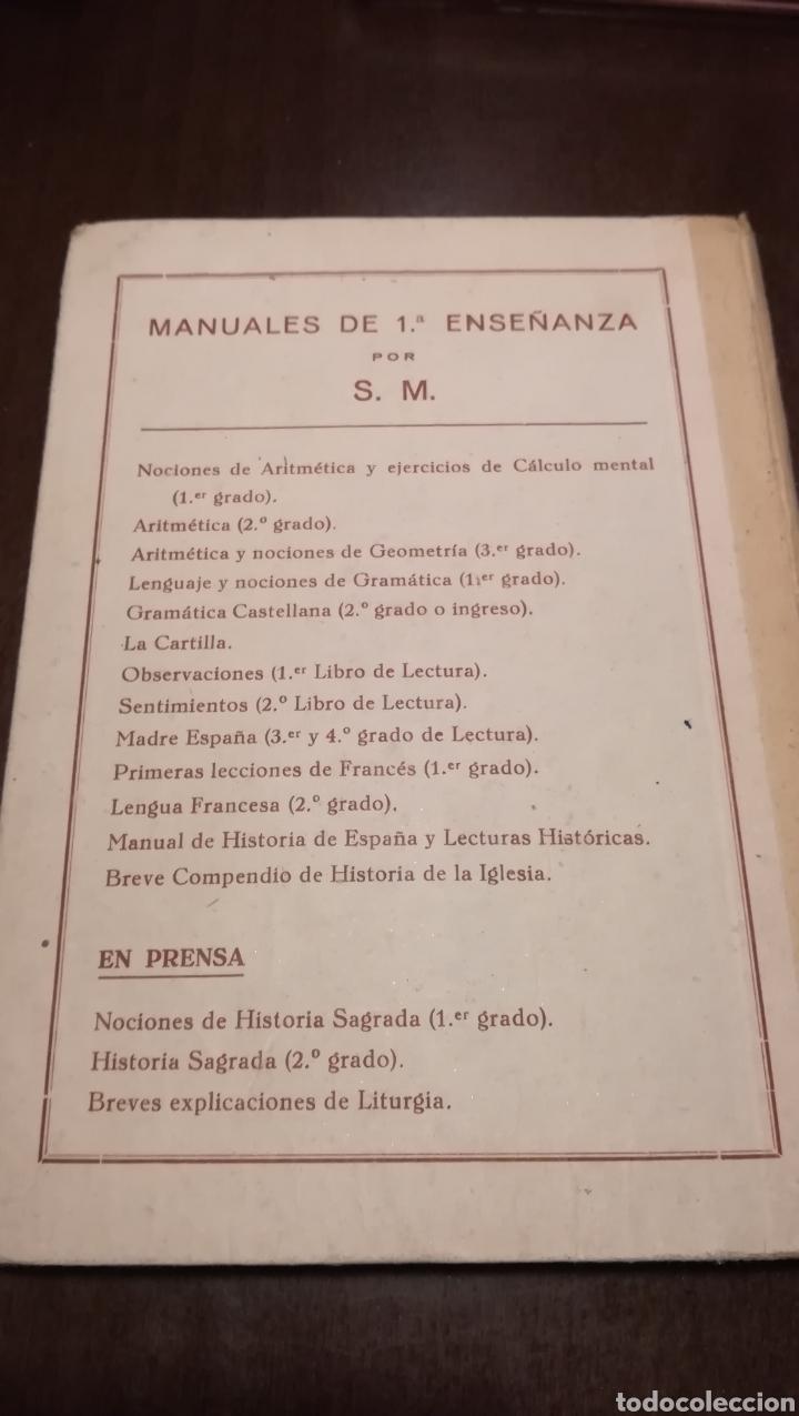 Libros de segunda mano: Historia de la Iglesia. Libro de 1a enseñanza de 1938 - Foto 7 - 195329082