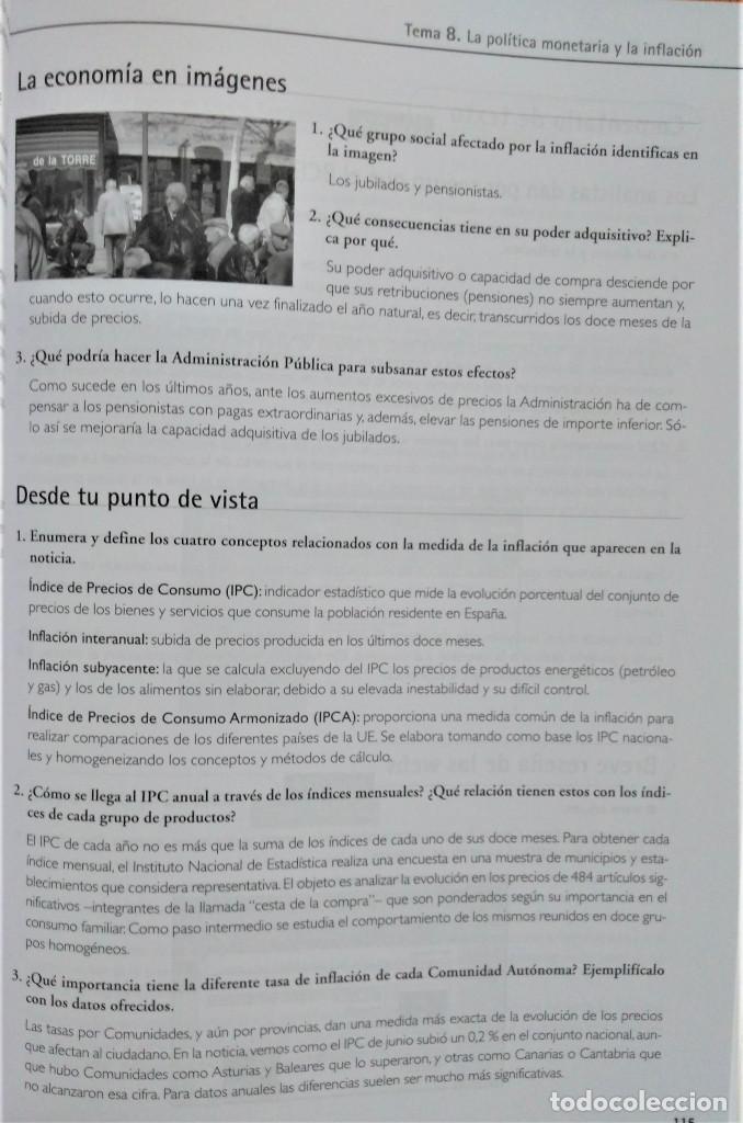Libros de segunda mano: ECONOMÍA - 1º BACHILLERATO - ALGAIDA - PROPUESTA DIDÁCTICA - JOSÉ FELIPE FOJ CANDEL - Foto 6 - 195338925