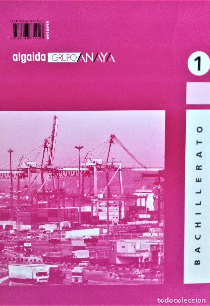 Libros de segunda mano: ECONOMÍA - 1º BACHILLERATO - ALGAIDA - PROPUESTA DIDÁCTICA - JOSÉ FELIPE FOJ CANDEL - Foto 2 - 195338925