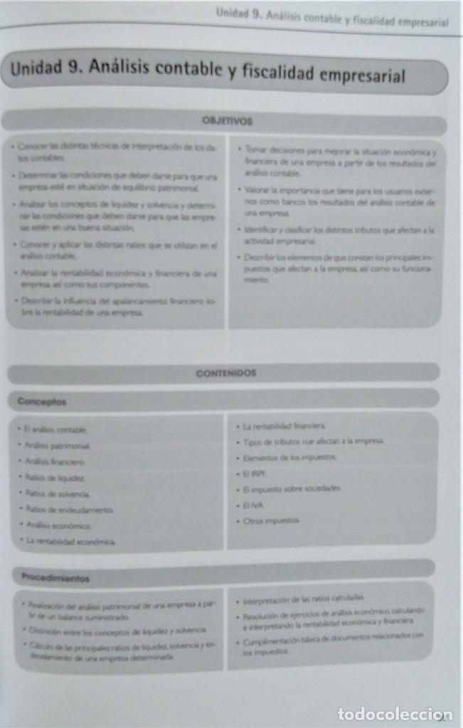 Libros de segunda mano: ECONOMÍA DE LA EMPRESA - 2º BACHILLERATO - PROPUESTA DIDÁCTICA - JOSÉ MIGUEL RIDAO - ALGAIDA - Foto 2 - 195339777