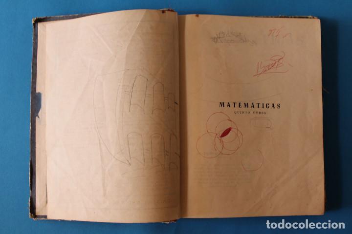 Libros de segunda mano: Libro Matemáticas Quinto Curso - Luis Vives - 1951 - Foto 2 - 195343438