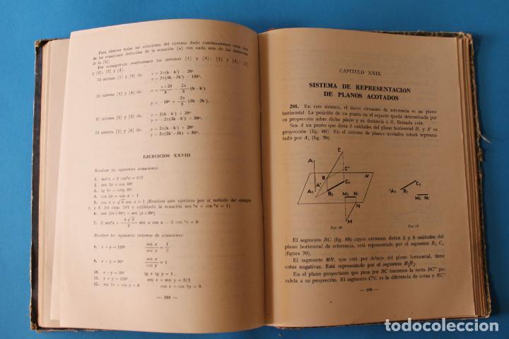 Libros de segunda mano: Libro Matemáticas Quinto Curso - Luis Vives - 1951 - Foto 7 - 195343438