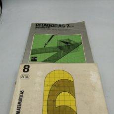 Libros de segunda mano: PITÁGORAS 7 Y 8 EGB. Lote 195386745