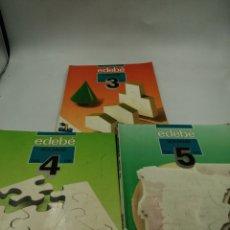 Libros de segunda mano: SOCIALES EDEBÉ EGB 3, 4 Y 5. Lote 195387595
