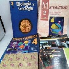 Libros de segunda mano: 6 ESO EGB COU VARIAS ASIGNATURAS. Lote 195388357