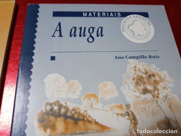 Libros de segunda mano: LIBROS/CUADERNOS-MATERIAIS-GALLEGO-A AUGA+VERSO A VERSO-CONSUELO VARELA FERNANDEZ-ANA CAMPILLO RUÍZ - Foto 4 - 195389352
