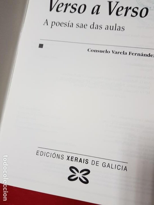 Libros de segunda mano: LIBROS/CUADERNOS-MATERIAIS-GALLEGO-A AUGA+VERSO A VERSO-CONSUELO VARELA FERNANDEZ-ANA CAMPILLO RUÍZ - Foto 7 - 195389352