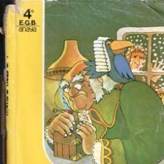 Libros de segunda mano: MUNDO NUEVO 4º EGB. Lote 195397486