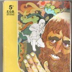 Libros de segunda mano: MUNDO NUEVO 5º EGB. Lote 195397487