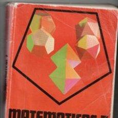 Libros de segunda mano: MATEMÁTICAS, 7. LEANDR JIMÉNEZ GARCES. ANTONIO GONZÁLEZ CASTILLO. Lote 195397491
