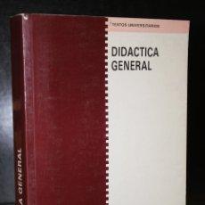 Libros de segunda mano: DIDÁCTICA GENERAL.. Lote 195405848