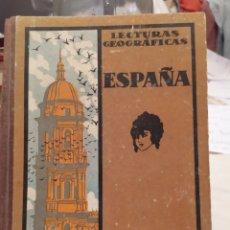 Libros de segunda mano: LECTURAS GEOGRÁFICAS ESPAÑA Y PORTUGAL. Lote 195419015