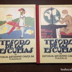 Libros de segunda mano: TESOROS DE LAS ESCUELAS FACSIMIL EDITORIAL SATURNINO CALLEJA. Lote 195423930