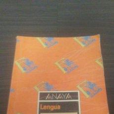 Libros de segunda mano: LIBRO EGB LENGUA EQUIPO ROMANIA 4 °. Lote 195461888