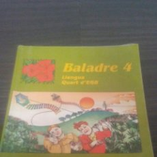Libros de segunda mano: BALADRE LLENGUA 4 EGB SANTILLANA. Lote 195462240
