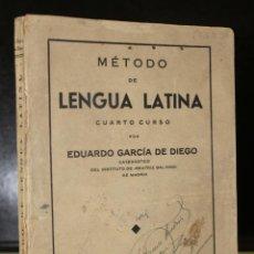 Libros de segunda mano: MÉTODO DE LENGUA LATINA. CUARTO CURSO.. Lote 195500411