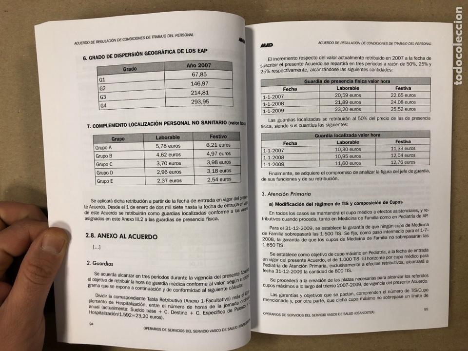 Libros de segunda mano: OPERARIOS DE SERVICIOS DEL SERVICIO VASCO DE SALUD-OSAKIDETZA. 2 LIBROS PARA OPOSITORES - Foto 5 - 195955650
