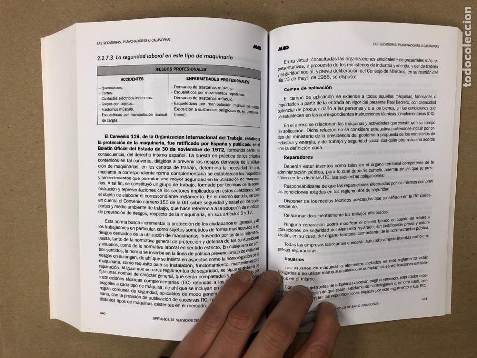 Libros de segunda mano: OPERARIOS DE SERVICIOS DEL SERVICIO VASCO DE SALUD-OSAKIDETZA. 2 LIBROS PARA OPOSITORES - Foto 9 - 195955650