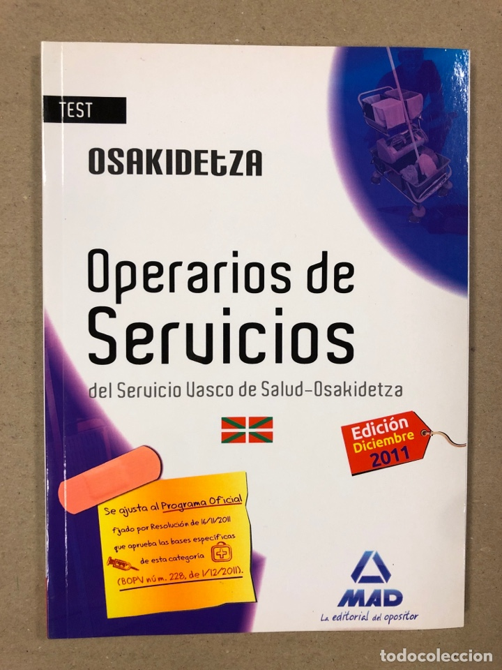 Libros de segunda mano: OPERARIOS DE SERVICIOS DEL SERVICIO VASCO DE SALUD-OSAKIDETZA. 2 LIBROS PARA OPOSITORES - Foto 12 - 195955650