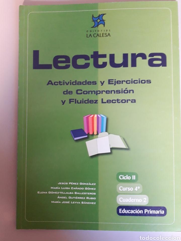 Lectura Actividades Y Ejercicios De Comprensión Comprar Libros De Texto En Todocoleccion 196248967