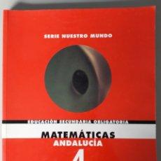 Libros de segunda mano: MATEMATICAS 4º ESO. ED. ANAYA. Lote 196250457