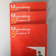 Libros de segunda mano: CUADERNILLOS MATEMATICAS 5º PRIMARIA. ED. ANAYA. NUEVO!!!!!!!. Lote 196272381