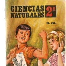 Livres d'occasion: CIENCIAS NATURALES 2º. PLAN 1967. EDICIONES, S.M. (M.I). Lote 196610601