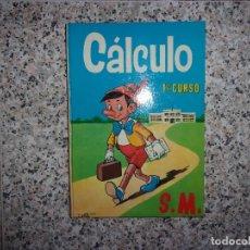 Livros em segunda mão: CÁLCULO 1 ER CURSO S.M.. Lote 196736893