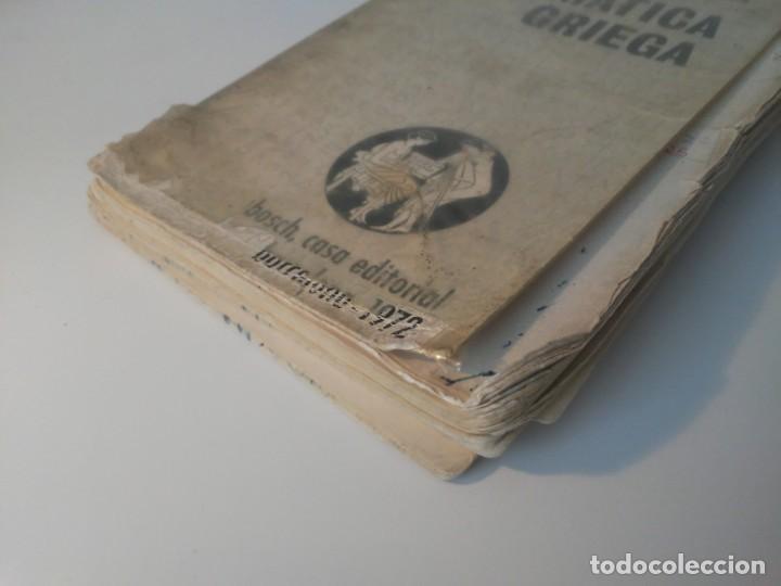 Libros de segunda mano: Gramática Griega bosch Casa Editorial Barcelona 1972 Jaime Berenguer Defectuoso - Foto 2 - 197144628