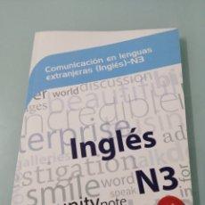 Libros de segunda mano: COMUNICACIÓN EN LENGUAS EXTRANJERAS (INGLÉS) - N3. YOLANDA MORATÓ AGRAFOJO. 2015. IDEASPROPIAS.. Lote 197190282