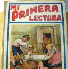 Libros de segunda mano: MI PRIMERA LECTURA - NARRACIONES INFANTILES . LIBRO ESCOLAR ED SOPENA . 1917. Lote 197243251