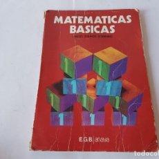 Libros de segunda mano: MATEMATICAS 1º EGB, ANAYA 1980. Lote 198759031